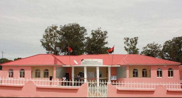 Longonjo Administraion Building