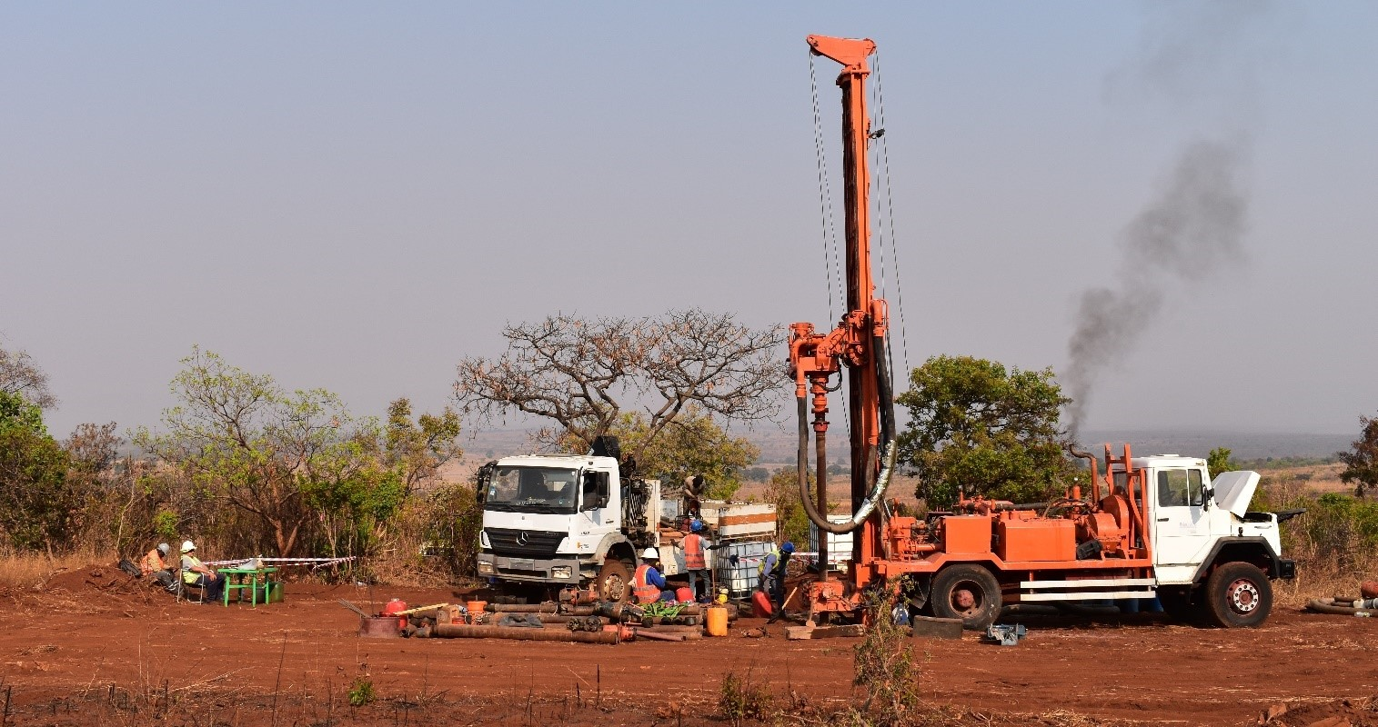 Drilling WB001 water bore - Monday 26 August 2019