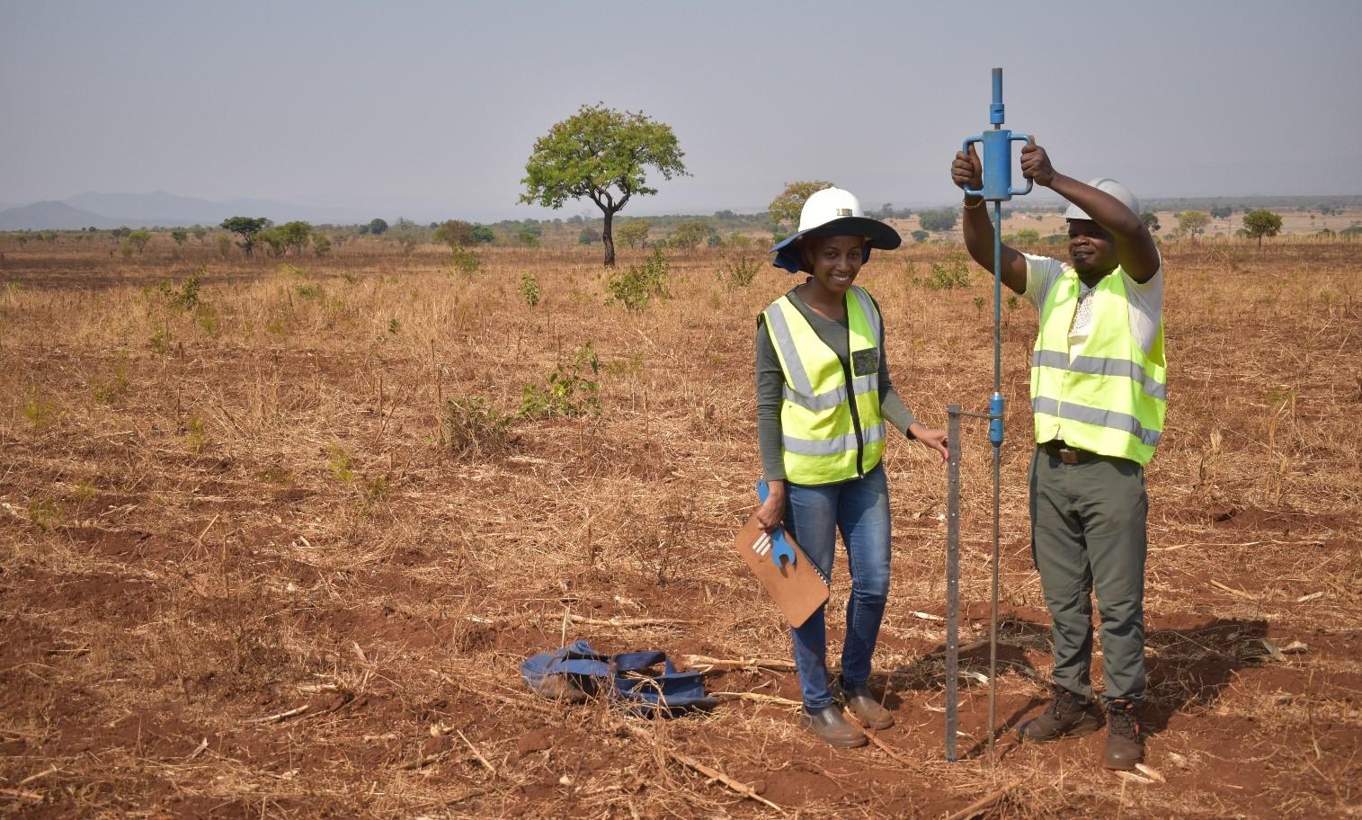 Geotech penetrometer testing