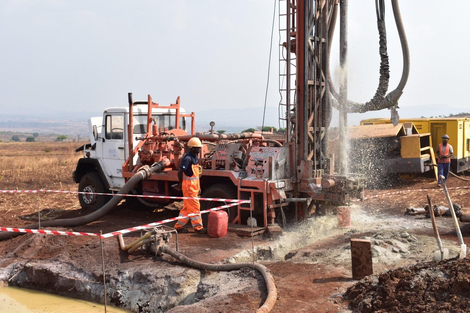 Waterbore drilling September 2019